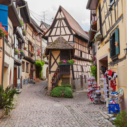 The most beautiful villages of Alsace